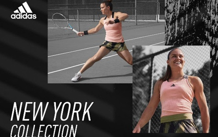 Adidas launches US Open 2021 women's tennis collection   Women's Tennis Blog   womenstennisblog.com   PUBLC